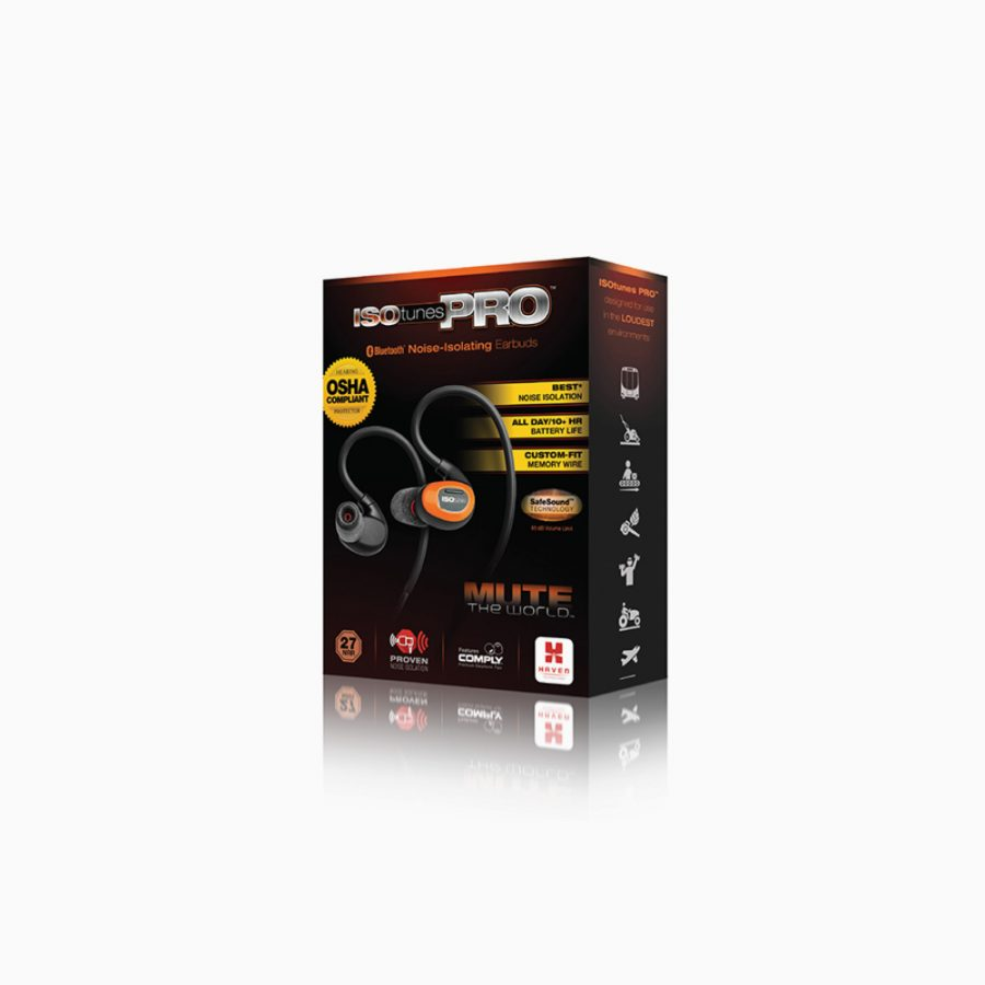 ISOtunes Pro 2.0 EN352, orange