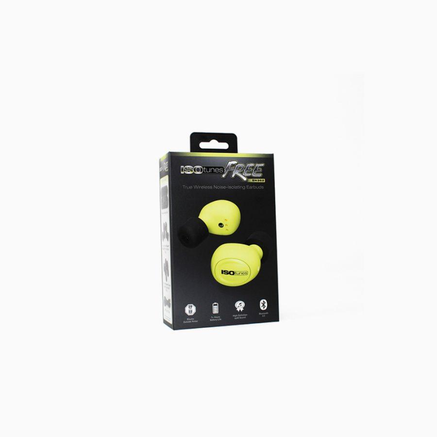 ISOtunes Free EN352, gelb