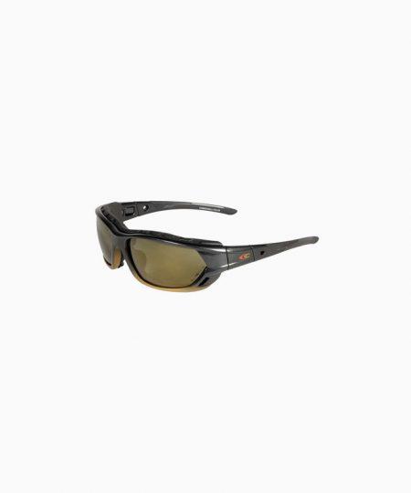 Schutzbrille, Combowall Polar, gold, Cofra