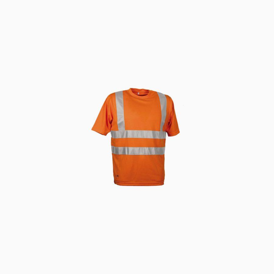 Schutzbekleidung, Kurzarmshirt reflektiv DANGER, Cofra