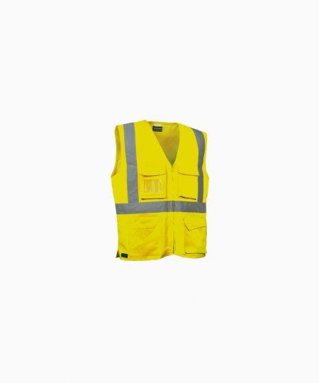 Schutzbekleidung, Warnschutzweste SEKI, Cofra