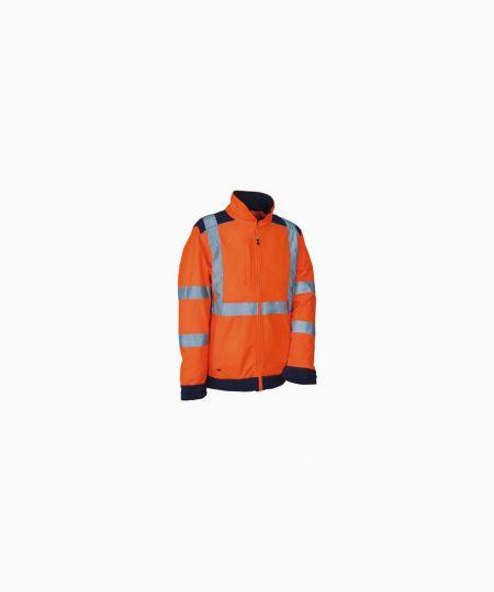 Schutzbekleidung, Softshelljacke reflektiv SIDEIA, Cofra